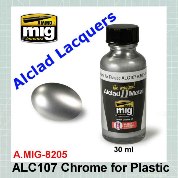 AMMO Mig 8205 Chrome for Plastic
