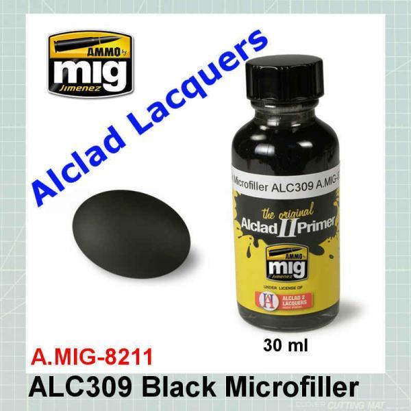 AMMO Mig 8211 Black Microfiller