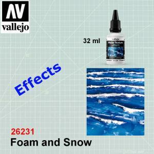 VALLEJO 26231 Foam and Snow
