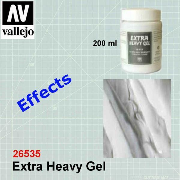 VALLEJO 26535 Extra Heavy Gel