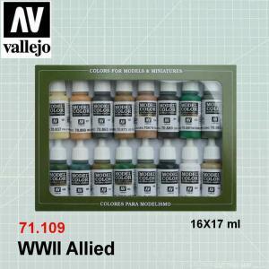 VALLEJO 70109 WWII Allied