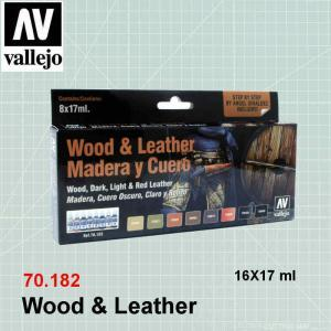 VALLEJO 70182 Wood & Leather