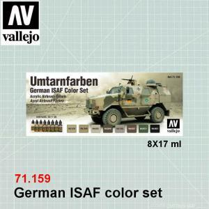 VALLEJO 71159 German ISAF color set