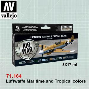 VALLEJO 71164 Luftwaffe Maritime and Tropical colors