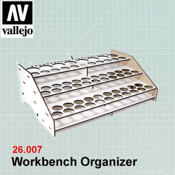 Vallejo 26007 Vallejo Workbench Organizer