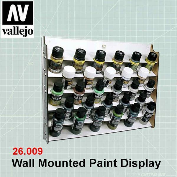 Vallejo 26009 Vallejo Wall Mounted Paint Display