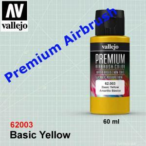 Vallejo 62003 Premium Basic Yellow
