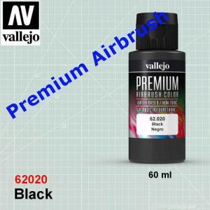 Vallejo 62020 Premium Black