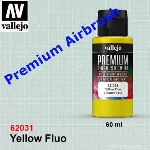 Vallejo 62031 Premium Yellow Fluo