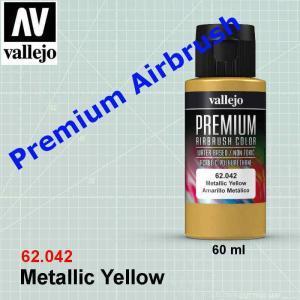 Vallejo 62042. Metallic Yellow
