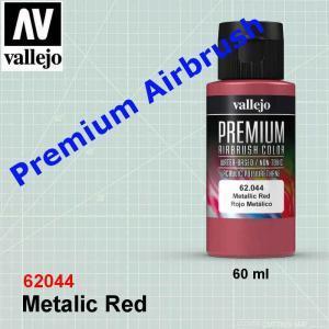 vallejo 62044 Premium Metallic Red