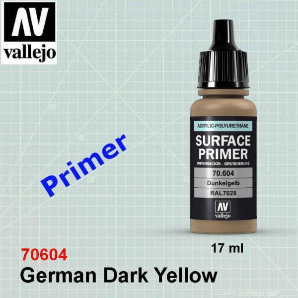 Vallejo 70604 German Dark Yellow Primer