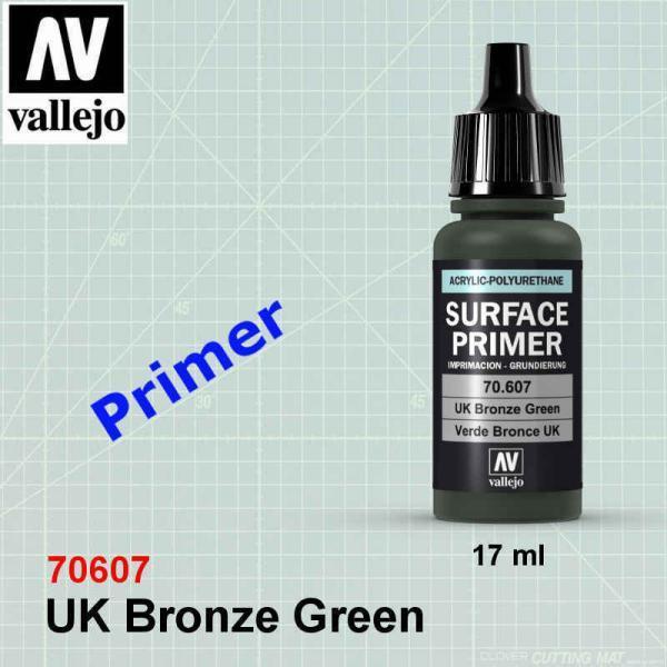 Vallejo 70607 UK Bronze Green Primer