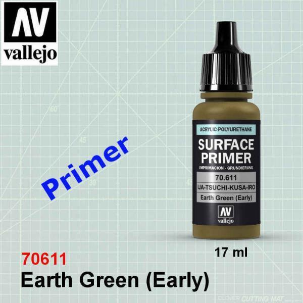 Vallejo 70611 Earth Green (Early) Primer