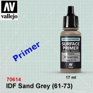 Vallejo 70614 IDF Sand Grey (61-73) Primer