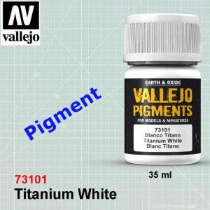 Vallejo 73101 Titanium White Pigment