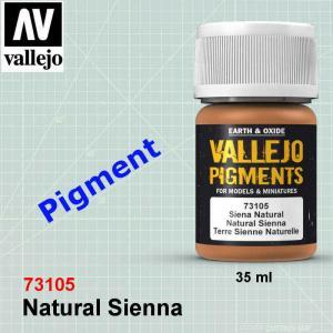 Vallejo 73105 Natural Sienna Pigment