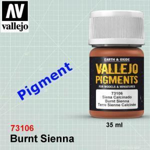 Vallejo 73106 Burnt Sienna Pigment