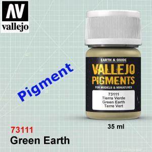 Vallejo 73111 Green Earth Pigment