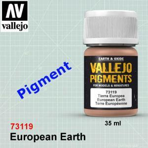 Vallejo 73119 European Earth Pigment