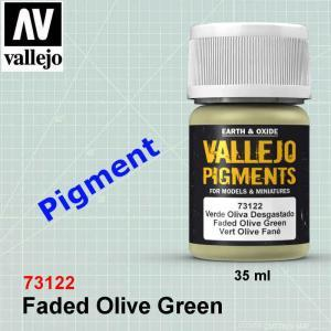 Vallejo 73122 Faded Olive Green Pigment