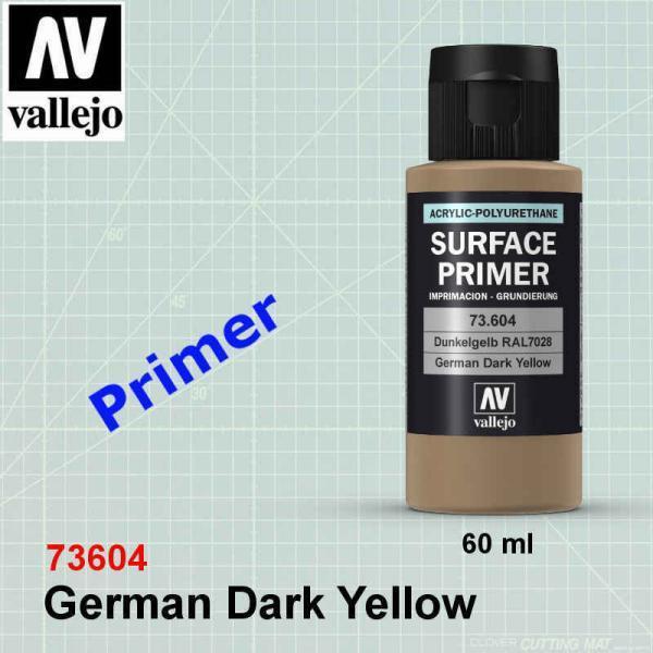 Vallejo 73604 German Dark Yellow Primer