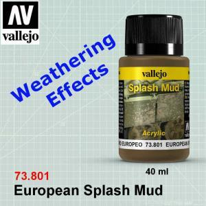 Vallejo 73801 European Splash Mud