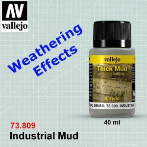 Vallejo 73809 Industrial Thick Mud