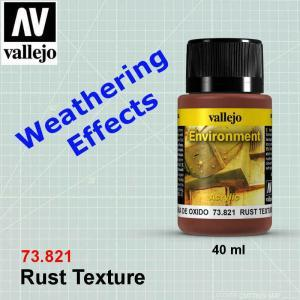 Vallejo 73821Environment Effects - Rust Texture