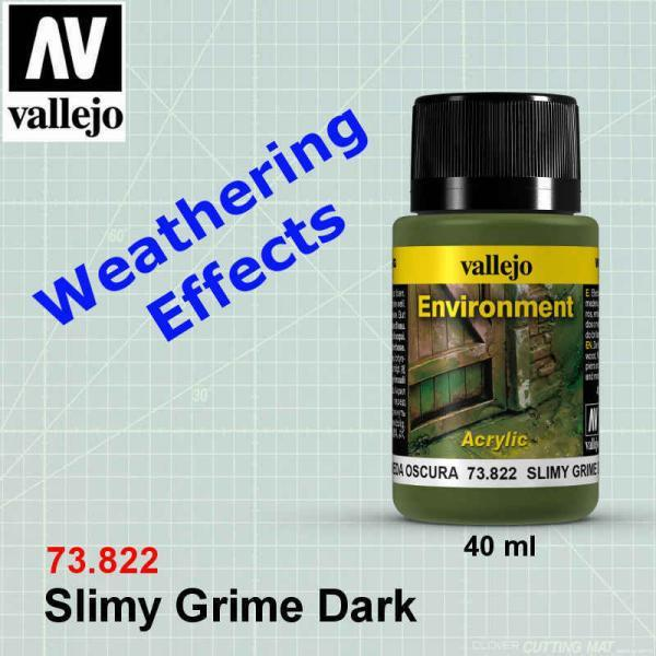 Vallejo 73822 Environment Effects - Slimy Grime Dark