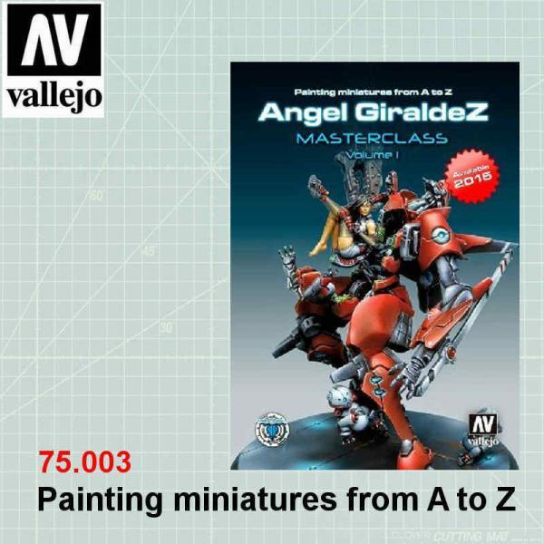 Vallejo 75003 Painting miniatures from A to Z