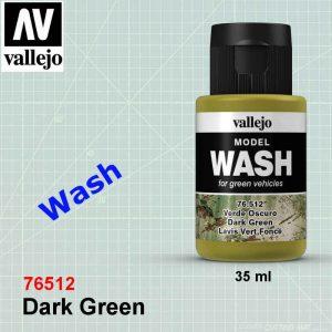Vallejo 76512 Dark Green Wash
