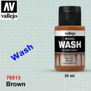 Vallejo 76513 Brown Wash