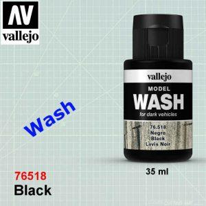 Vallejo 76518 Black Wash