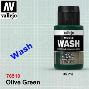 Vallejo 76519 Olive Green Wash