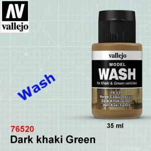 Vallejo 76520 Dark khaki Green Wash