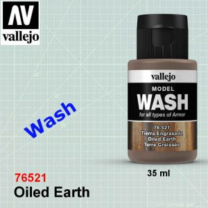 Vallejo 76521 Oiled Earth Wash Wash