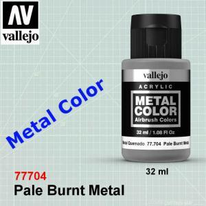 Vallejo 77704 Pale Burnt Metal