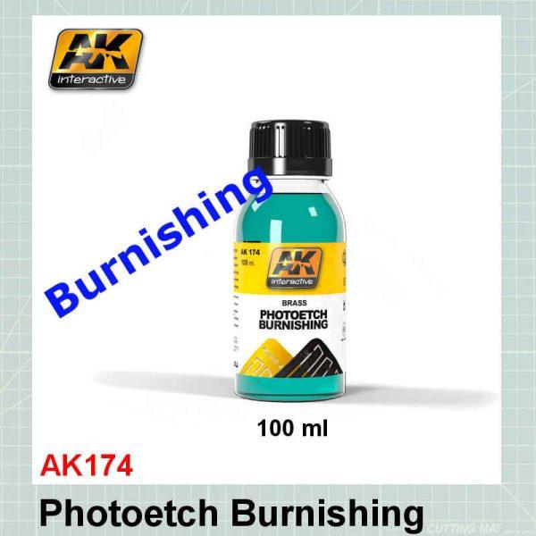 AK174 Photoetch Burnishing