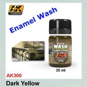 AK300 Dark Yellow Wash