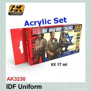 AK3230 IDF Uniform Colors