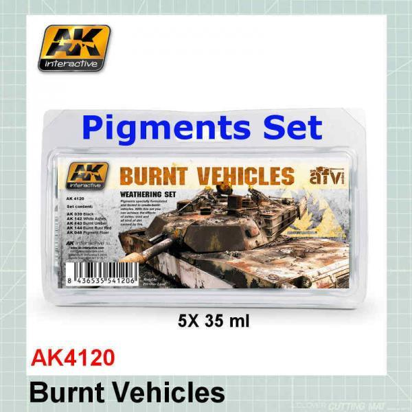 AK4120 Burnt Vehicles