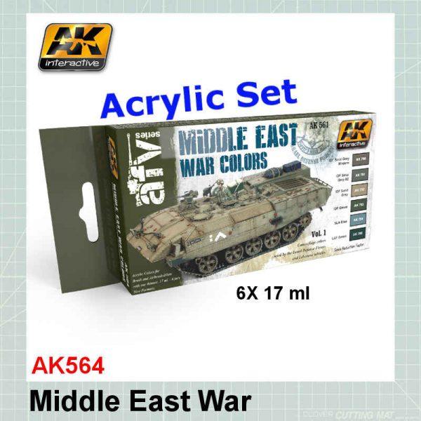 AK564 Middle East Colors & IDF
