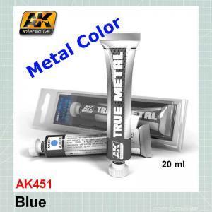 AKI 451 True Metal Metallic Blue