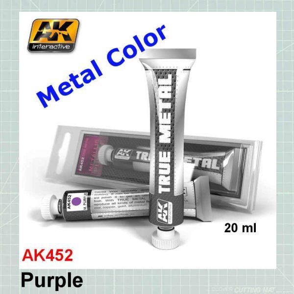 AKI 452 True Metal Metallic Purple
