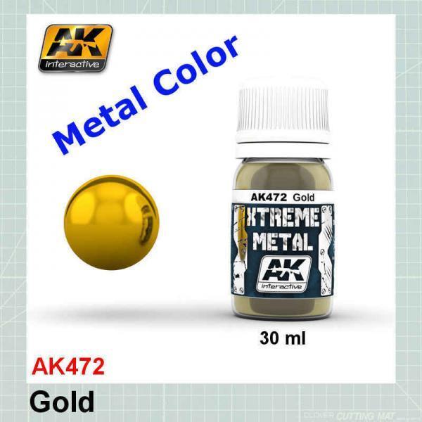 AKI 472 Xtreme Metal Gold