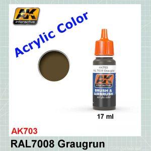 AKI 703 RAL7008 Graugrun - Grey Green