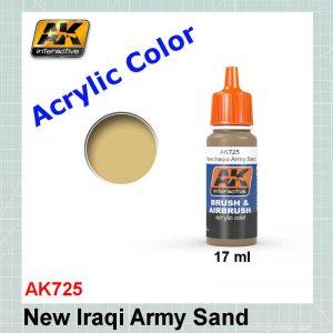 AKI 725 New Iraqi Army Sand