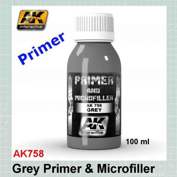 AKI 758 Grey Primer and Microfiller
