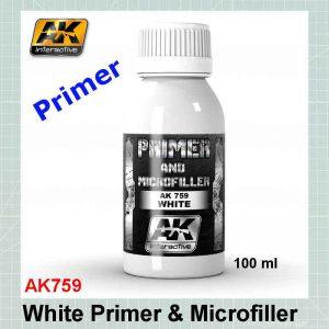 AKI 759 White Primer and Microfiller